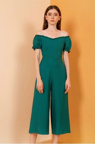 Show details for Dohafablar Jumpsuit (Green)