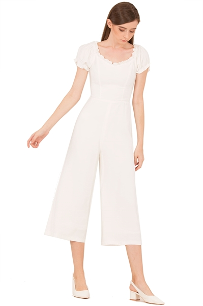 Picture of Dohafablar Jumpsuit (White)