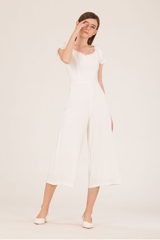 Show details for Dohafablar Jumpsuit (White)