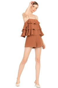 Picture of Dunugara Romper (Brown)