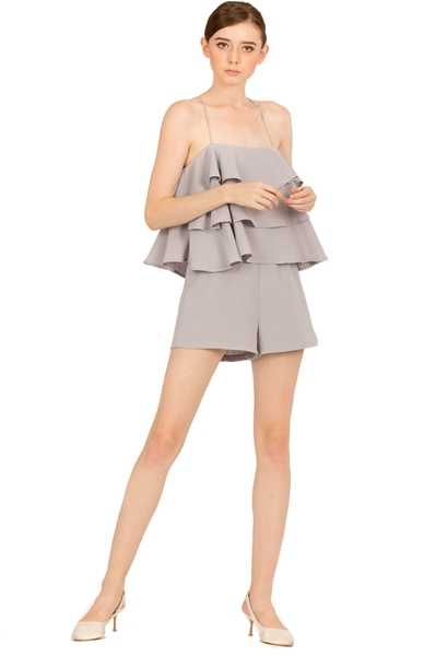 Picture of Dunugara Romper (Grey)
