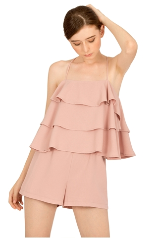 Picture of Dunugara Romper (Pale Pink)