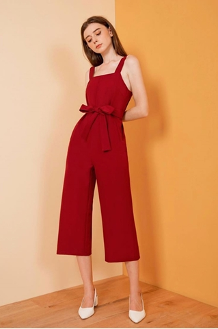 Show details for Demuxie Jumpsuit (Maroon)