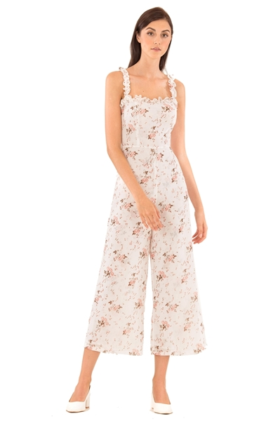 Picture of Deyuanij Jumpsuit (White)