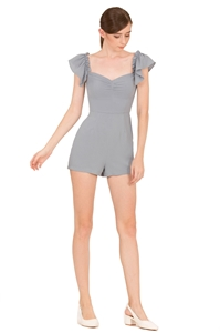 Picture of Dimifuna Romper (Pale Blue)
