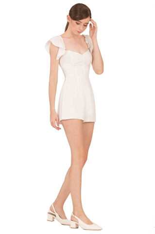Picture of Dimifuna Romper (White)