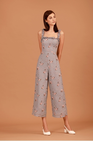 Show details for Deyuanij Jumpsuit (Dusty Blue)