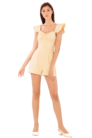 Picture of Demixtor Romper (Pale Yellow)