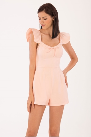 Show details for Demixtor Romper (Peach)