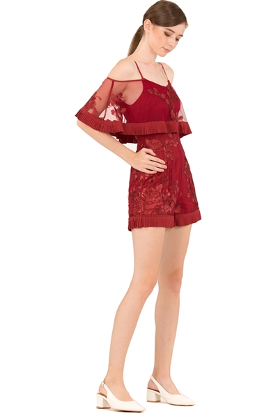 Picture of Dakarual Romper (Red)