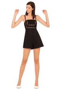 Picture of Damiokar Romper (Black)
