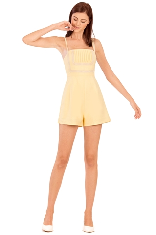 Picture of Damiokar Romper (Powder Yellow)