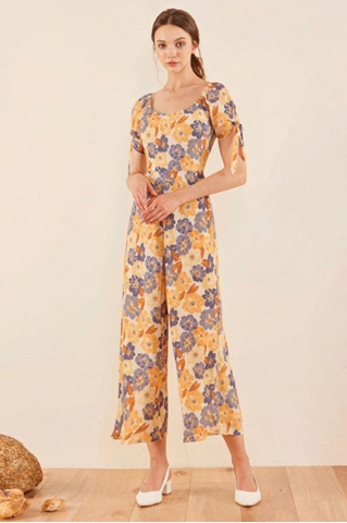 Show details for Dimixcay Jumpsuit (Yellow)