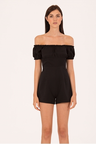 Show details for Dojutafec Romper (Black)