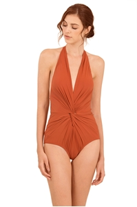 Picture of Darsala Bodysuit  (Rust Orange) (Non Returnable)