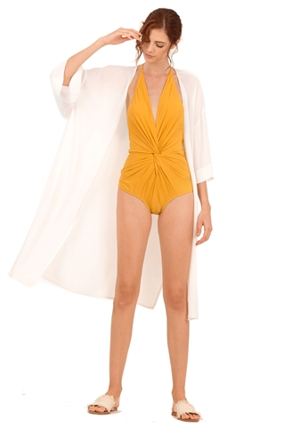 Picture of Darsala Bodysuit (Sunflower Yellow) (Non Returnable)