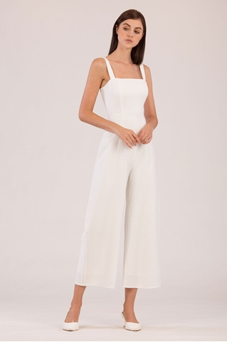 Show details for Dohujita Jumpsuit (White)