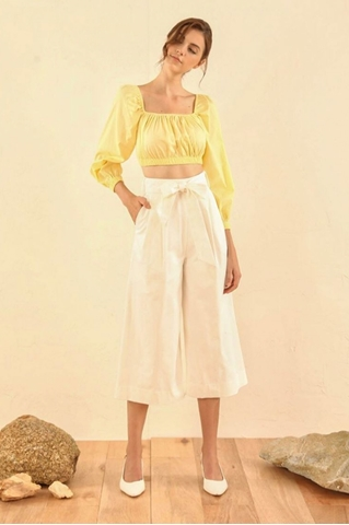 Show details for Dimekia Top (Powder Yellow)