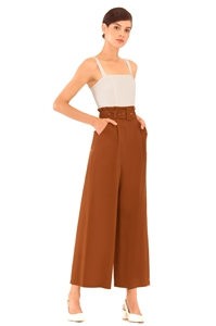 Picture of Daxvaliar Jumpsuit (Brown)