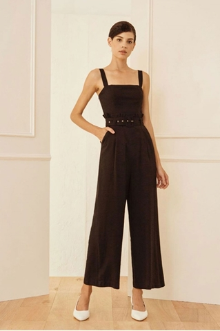 Show details for Daxvaliar Jumpsuit (Black)
