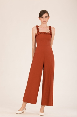 Show details for Dokianir Jumpsuit (Brown)