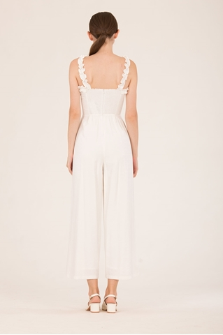 Show details for Dokianir Jumpsuit (White)