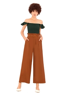 Picture of Deruoliva Pants (Brown)