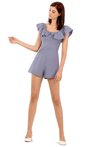 Picture of Damibir Romper (Periwinkle)