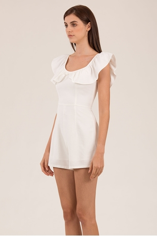 Show details for Damibir Romper (White)