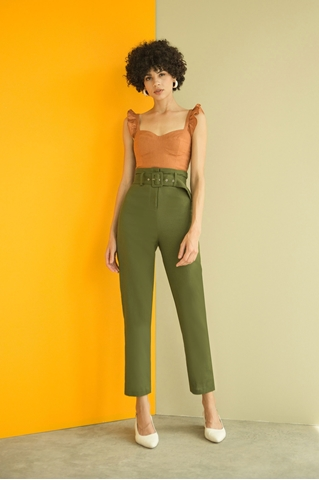 Show details for Dyvivi Pants (Army Green)