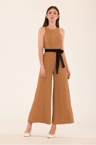 Show details for Danaverlia Jumpsuit (Brown)