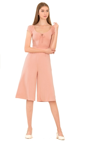 Picture of Dalamixy Jumpsuit Cullotes (Pale Pink)