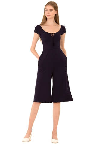 Picture of Dalamixy Jumpsuit Cullotes (Navy)