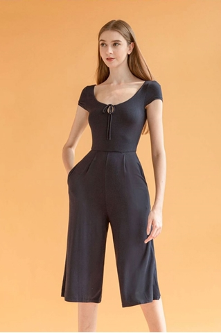 Show details for Dalamixy Jumpsuit Cullotes (Navy)