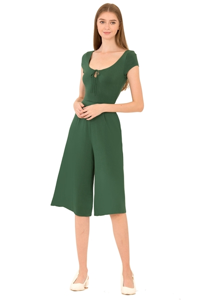 Picture of Dalamixy Jumpsuit Cullotes (Green)