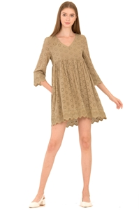 Picture of Dernifer Skort Dress (Olive)