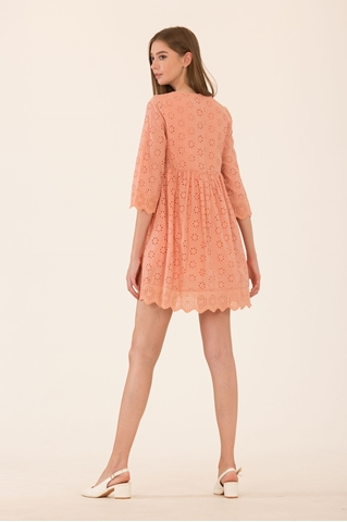 Show details for Dernifer Skort Dress (Peach)