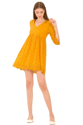 Picture of Dernifer Skort Dress (Sunflower Yellow)