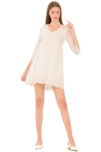 Picture of Dernifer Skort Dress (White)