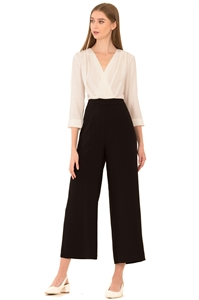Picture of Dreslyio Jumpsuit (White+Black)