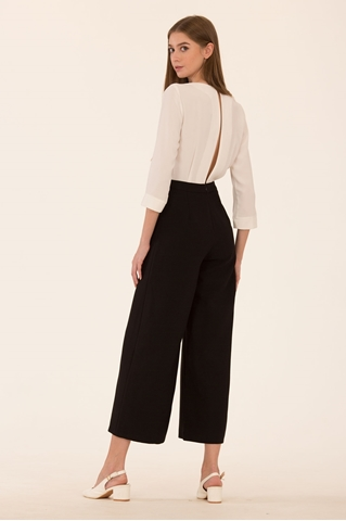 Show details for Dreslyio Jumpsuit (White+Black)