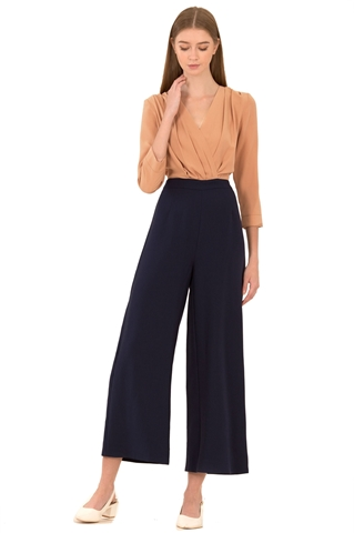 Picture of Dreslyio Jumpsuit (Light Brown+Navy)