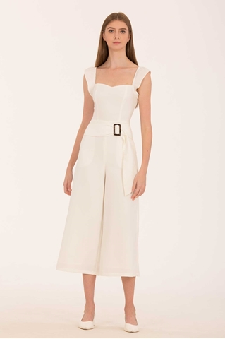 Show details for Damiyiar Jumpsuit (White)