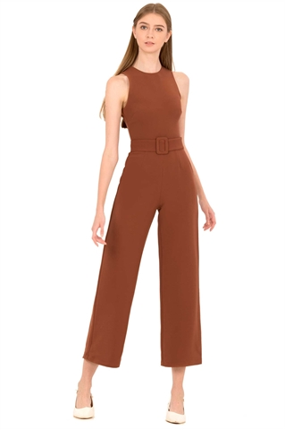 Show details for Derjolita Jumpsuit (Dark Brown)