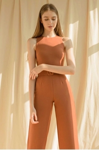 Picture of Derjolita Jumpsuit (Dark Brown)