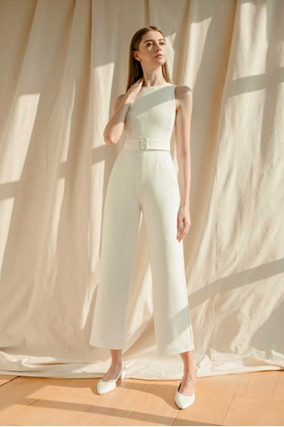 Picture of Derjolita Jumpsuit (White)