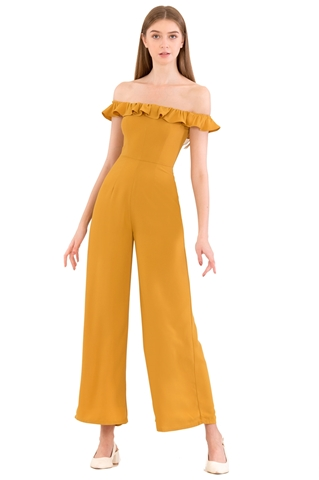 Show details for Dartessar Jumpsuit (Mustard)