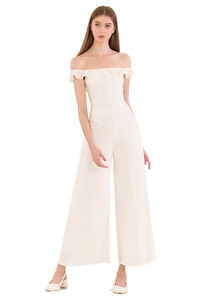 Picture of Dartessar Jumpsuit (White)