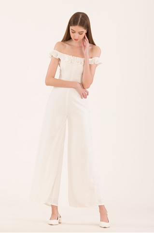 Show details for Dartessar Jumpsuit (White)