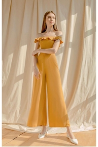 Picture of Dartessar Jumpsuit (Mustard)